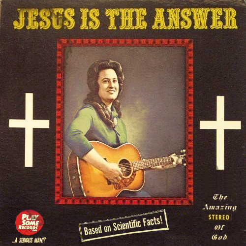 melodies of a serious man - JESUS IS THE ANSWER
